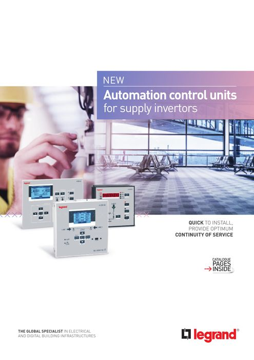 Automatic transfer switching units brochure