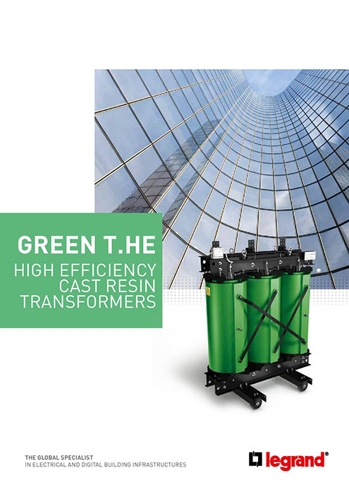 Brochure High Efficiency Cast Resin Transformers (EN)