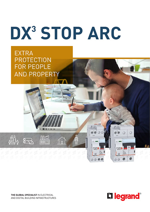 DX³ Stop Arc brochure: increased protection for people and property