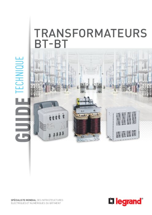 Guide technique : Transformateurs basse tension