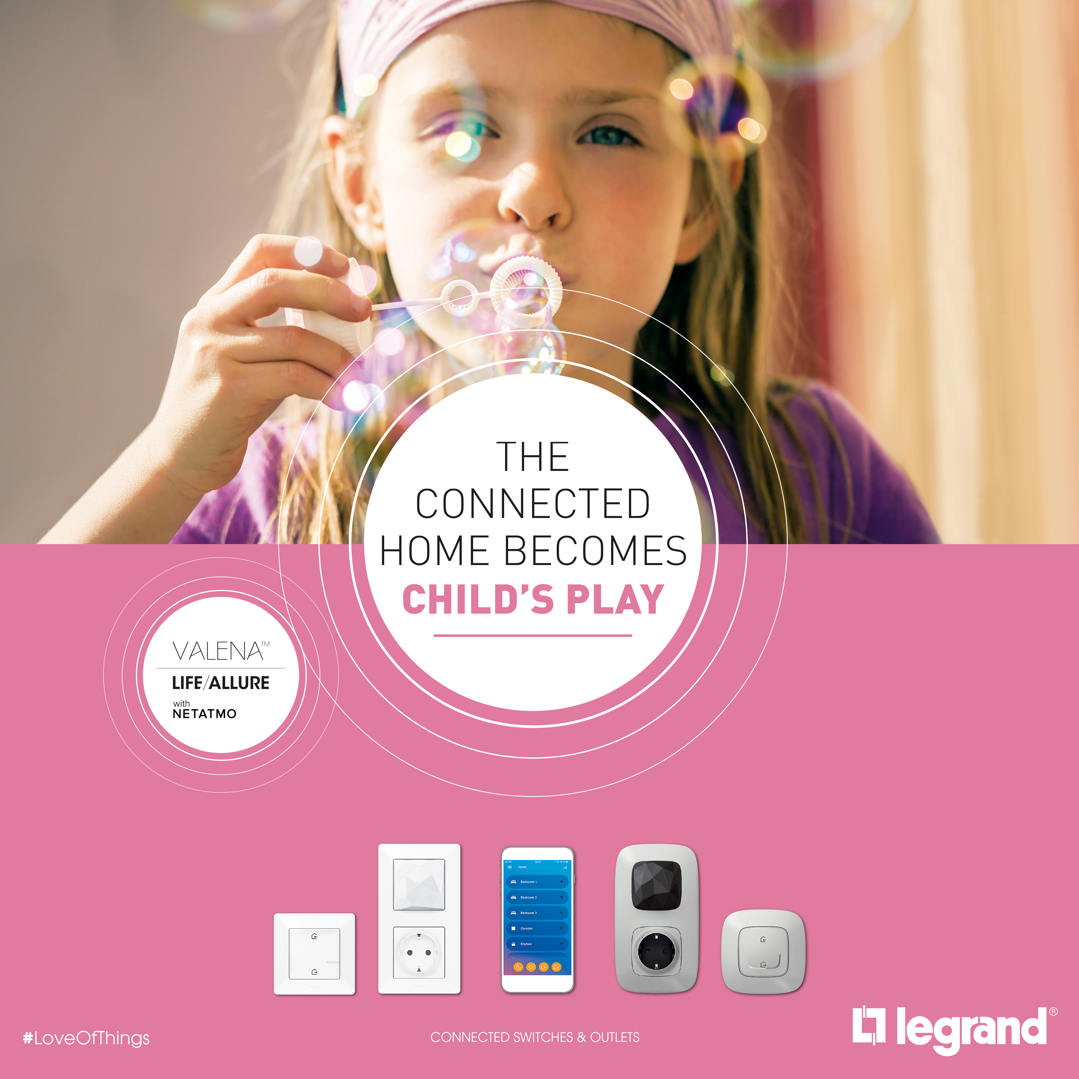 Connected wiring accessories | Legrand Export