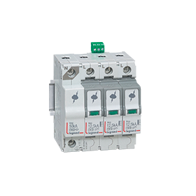 DIN rail mounting SPDs & control devices